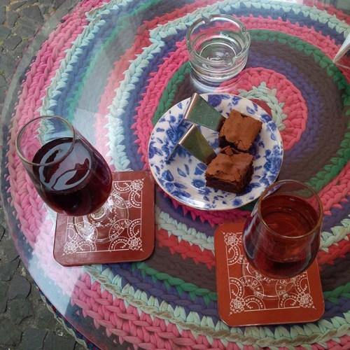 Madeira Wein auf dem Tisch