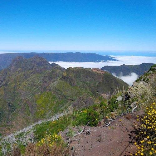 Gipfel des Pico Ruivo auf Madeira erreicht.