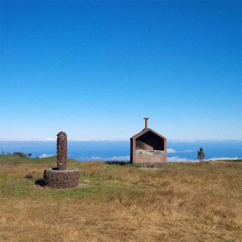 Trekkingplatz auf Madeira.