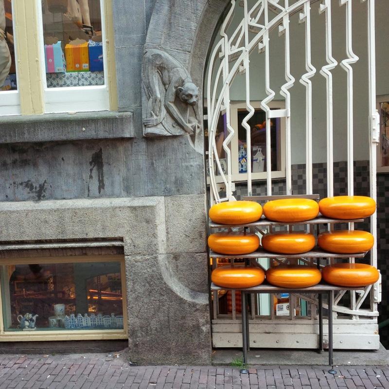 Käselaibe in Amsterdam